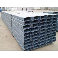 长期供应C型钢 热镀锌C型钢 冷弯型钢屋面檩条拉条