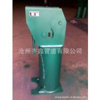 柱上悬臂梁不保温(保温)垂直单管滑动支架。齐鑫缔造精品