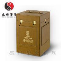 大容量白酒包装盒  pu皮酒盒 皮箱子 仿古皮箱 收藏皮箱