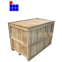 青岛木质包装箱厂家免熏蒸胶合板定做木箱载重
