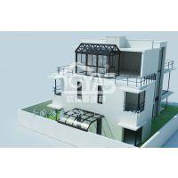 户外花园阳光房定制、平顶玻璃房设计、彩钢阳光房厂家直销夹胶安全玻璃房