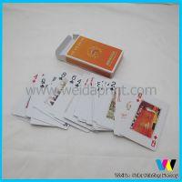 厂家定制印刷扑克牌 供应常规扑克生产 按客要求定做