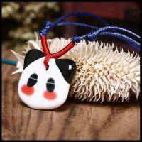 热销推荐 熊猫的故事卡通项链 陶瓷礼品项链 陶瓷首饰