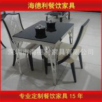 小肥羊专用火锅桌椅 韩式烧烤火锅桌 电磁炉火锅桌子