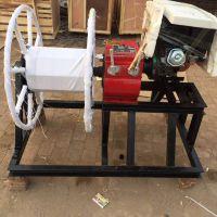 厂家供应双骉机动绞磨 电缆输送机