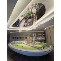 深圳品筑模型设计--宏发世纪-近观中心园林,远眺羊台山境。。