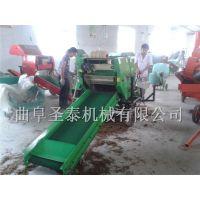 厂家直销圣泰牧草青储机 玉米秸秆打包青储机 青储打包机价格