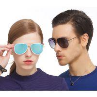 厂家直销男女式偏光太阳镜炫彩渐变偏光眼镜时尚潮流墨镜批发