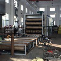 鲁干牌DWC带式干燥机 中药材烘干多层网带连续烘干机 不粘网配置