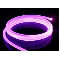 11mm白色外被,内径8mm抗UV通体光纤 ,用于装饰导光轮廓光纤