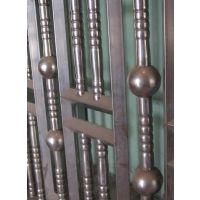 供应70mm不锈钢围栏大门配件冲孔圆球