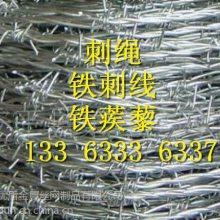 防护用刺绳 镀锌拧编刺线 刺丝网围栏 刺绳立柱制作