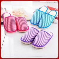 条纹泡沫底冬季拖鞋棉拖鞋反季清仓保证100%正品