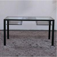 现代餐厅时尚玻璃咖啡桌定做 多功能双层时尚钢化玻璃咖啡桌 热卖