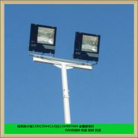 12米足球场照明灯杆设备 1000W亚明金卤灯 珠海足球场灯杆厂家定做