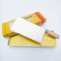 阳江菜刀 高品质不锈钢厨师刀 手工锻打5厘切片刀 肉片刀(1号)