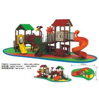 蓝图游乐设备直销各种儿童滑梯旋转木马跷跷板