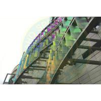 七彩镀膜玻璃、炫彩玻璃、幻彩炫丽