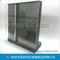 定制亚克力插纸牌 宣传资料架 广告宣传折页有机玻璃架