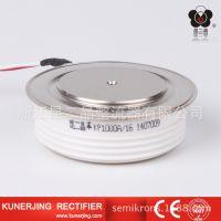 厂价直销昆二晶KP3000A普通晶闸管优质可控硅大功率平板凸型