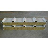 天河夹芯板岩棉板保温隔热板