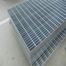 水厂格栅板 污水处理厂排污板 防滑踏步板