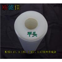 优质10寸PP折叠滤芯平压水处理滤芯0.1-0.65U净水/饮水机配件耗材