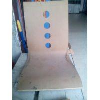 韩式弯曲木木质椅子坐板,曲木靠背,龙魁曲木厂家直销