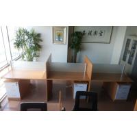 新款钢木办公桌 屏风工位桌 隔断培训桌 天津兴之鹏办公家具定制