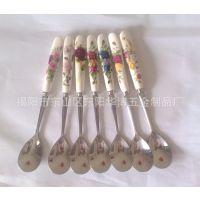 供应儿童餐饮餐具勺子,优质儿童用品勺子,陶瓷勺子