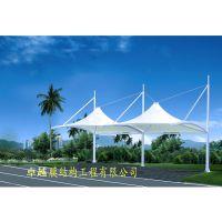 郑州张拉膜结构车棚 、 停车棚 、 自行车棚设计制作安装