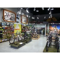 成都最专业的自行车专卖店装修设计公司|成都性价比的自行车专卖店装修设计公司