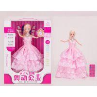 舞动公主 会唱歌跳舞录音讲故事 智能遥控芭比娃娃配饰品