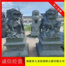惠安精品石雕麒麟镇宅辟邪摆件 各种石材麒麟定制的雕刻