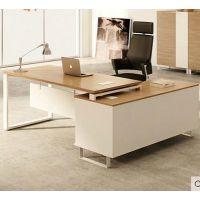 常州办公家具厂 办公桌时尚大板桌子 简约现代经理桌老板桌椅大班台