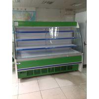 水果展示柜 超市进口零食店水果保鲜柜 敞开式蔬菜配菜冷柜 一体机组风幕柜