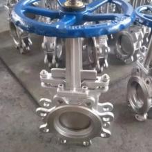 PZ473W手动耐高温螺旋闸门、手动高温刀型闸阀、耐磨闸板阀