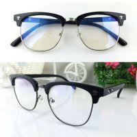 复古克罗@金属半框眼镜框潮护目镜506眼镜架可配近视防辐射眼镜