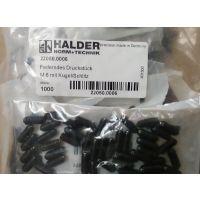 供应 HALDER 定位柱 定位珠 柱塞 德国原装进口 2206,2208,2205,2203