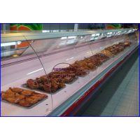 大型连锁超市熟食柜 熟食鸭脖冷藏展示柜 青岛凉菜店保鲜柜
