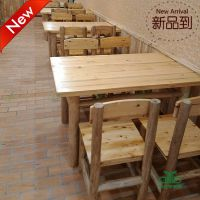 深圳新款上市 实木餐椅饭店桌椅中式 运达来家具供应
