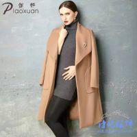 知名杭州品牌双面绒羊绒大衣联营加盟免加盟费无库存零风险