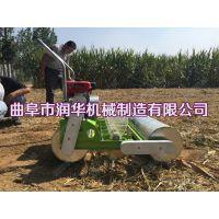 谷子汽油播种机 多行可定谷子播种机 汽油手推式种植机