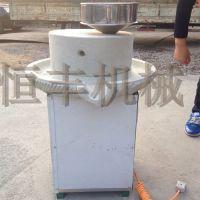 宿州电动石磨豆浆机 石磨煎饼加工机器 磨面糊机器