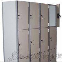 佳丽福厂家直销防潮耐磨密度板带锁储物柜