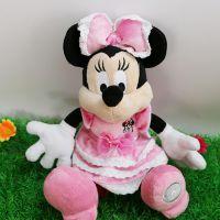 迪士尼米妮公仔 毛绒玩具娃娃 儿童玩偶 情人节礼物 厂家定制