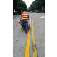 专业道路划线马路划线多少钱一米深圳划线