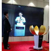 广州出租开花启动道具,升降莲花瓣启动仪式台租赁销售