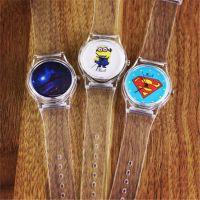 SWATCH小黄人/超人果冻手表 学生表 儿童表 厂家专业定制定做 OEM