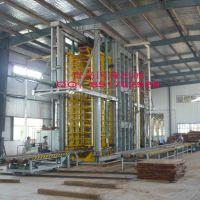 青岛国森机械制造多层竹胶合板热压机组
